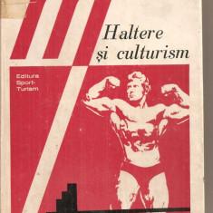 Carte despre Sport - (C5854) HALTERE SI CULTURISM DE LAZAR BAROGA, EDITURA SPORT-TURISM, 1977