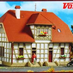 Casa cu schelet din lemn, Vollmer HO 3654, Scara HO(1:87)