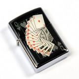 Bricheta model zippo - poker ( model 3 )