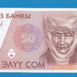 bancnota asia - Kyrgyzstan 50 Som 1997 UNC