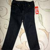 Noi! Pantaloni de blugi bleumarin inchis, marca FF, fete 3-4 ani