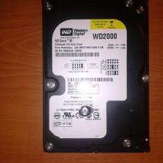 HDD WD 200GB Defect - Hard Disk Western Digital, 200-499 GB, IDE, 16 MB