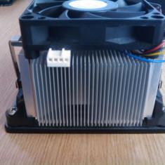 COOLER AM2, AM2+, AM3 CU MIEZ DE CUPRU+DISPOZITIV DE PRINDERE PLACA DE BAZA IMPECABIL - Cooler PC AMD, Pentru procesoare