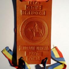 5.502 ROMANIA FANION/ECUSON AUTO ITA CLUJ NAPOCA CIRCUIT VITEZA 1976 ACR - Fanion fotbal