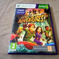 Joc Kinect Adventures, exclusiv xbox360, original, alte sute de jocuri! - Jocuri Xbox 360, Actiune, 3+, Single player