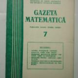 GAZETA DE MATEMATICA - LOT ANUL 1979 NUMERELELE 7 + 8 + 9 - Culegere Matematica