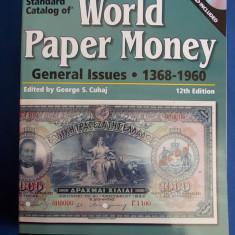 CATALOG BANCNOTE * WORLD PAPER MONEY : 1368-1960 - EDITED BY GEORGE S.CUHAJ - EDITIA 12-A - KRAUSE - USA - 2008 - CARTE + DVD !!!