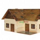 Set walachia casuta casute traditionale din lemn CASA SOLITARA lonley house lego - Jocuri Seturi constructie