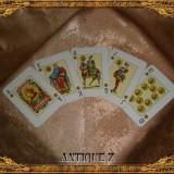 Carti poker - Set 54 carti de joc, Victoria by Fournier, vintage