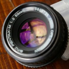Pentax M SMC 50mm 2.0 in stare excelenta - Obiectiv DSLR Pentax, Standard, Manual focus