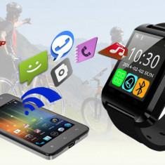 SmartWatch U8 Bluetooth Ceas pentru telefoane Android. Negru