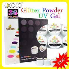 Kit Set Gel 36 Color Geluri Colorate 5ML (8G) GD COCO SCLIPICI - Gel unghii