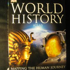 World history atlas - Atlasul istoric al lumii - in engleza editura DK