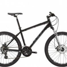 Mountain Bike - Bicicleta Mtb, Felt, Six 90, 2015, L 20 inch, Negru-Gri, Cadru Aluminiu FELT