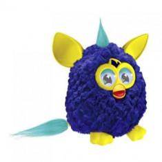 Surpriza Kinder - Jucaria Furby - interactioneaza cu telefoane IOS si Android culoare albastru cu galben