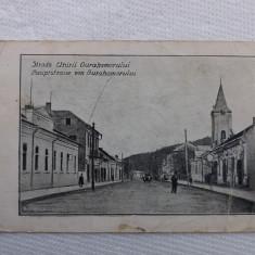 Gura Humorului, str.Unirii.Circulata. - Carte Postala Bucovina 1904-1918