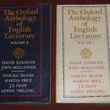 Carte Literatura Engleza - The Oxford Anthology of English Literature - Frank Kermode, John Hollander