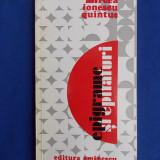 MIRCEA IONESCU QUINTUS - EPIGRAME SI EPITAFURI - 1976- AUTOGRAF SI DEDICATIE !!! - Carte poezie