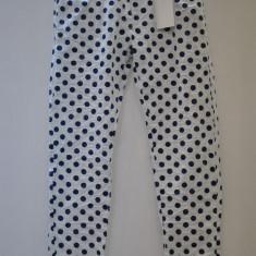 PANTALONI SUBTIRI DE VARA CU BULINE - Pantaloni dama, Marime: S, Culoare: Din imagine