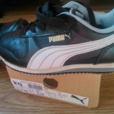 Vand adidasi copii originali marca Puma, Baieti, Piele naturala