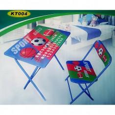 Masuta/scaun copii - Masuta si scaun pliabil pentru elevi KT 004