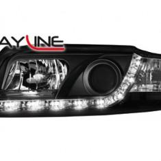 Faruri tuning - Faruri DAYLINE AUDI A4 8E 01-04 negru