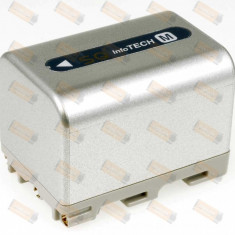 Acumulator compatibil Sony DCR-TRV10E 3400mAh argintiu - Baterie Camera Video