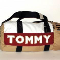 Geanta TOMMY HILFIGER originala - Sport Sala Fitness -100% AUTENTIC - Geanta Barbati Tommy Hilfiger, Marime: One size, Culoare: Din imagine, Geanta de sold, Panza