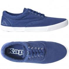 Adidasi Kappa-panza-tenisi barbati originali-in cutie-40.5, 42, 44, 44.5, Culoare: Albastru, Textil