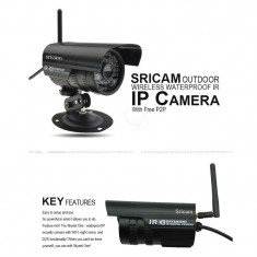 Camera de supraveghere IP Wi-Fi, waterproof, outdoor, infrarosu, senzor miscare Alta