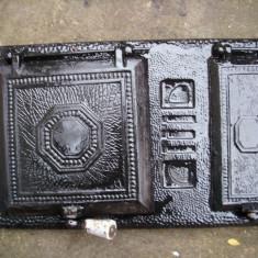 Metal/Fonta - Usa de soba de teracota folosita