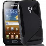 Husa Samsung Galaxy Ace 2 i8160 TPU S-LINE Black