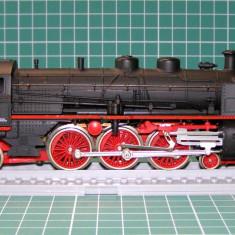 Macheta Feroviara, 1:87, HO, Locomotive - Locomotiva abur BR18 marca Lima scara HO(4025)