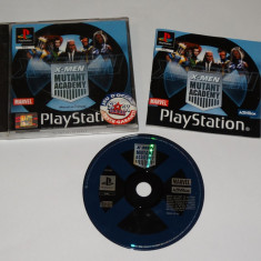 Joc consola Sony Playstation 1 PS1 PS One - X-MEN Mutant Academy, Actiune, Toate varstele, Single player