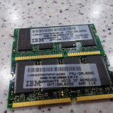 Kit Memorie laptop 256Mb SDRAM pc100 2 X 128Mb
