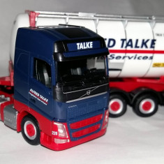 NOU! Herpa VOLVO GL FH16 2013 swap container Alfred Talke 1:87 - Macheta auto
