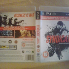 Jocuri PS3, Shooting, 18+, Single player - Syndicate - Joc PS 3 ( GameLand )