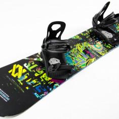 Placa Snowboard Volkl RentalRocker 2014 156w + Legaturi CC SpeedFit MLXL - Placi snowboard