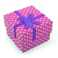 Cutie Bijuterii - Cutie Ambalaj Cadou pentru Inele, brose mici, cod 43