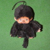 Colectii - Jucarie plus mascota Monchhichi (kiki) maro, 12 cm, maimutica, maimuta,