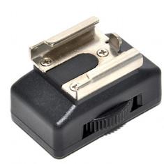 Adaptor aparat foto - JJC MSA-8 Adaptor patina blitz – filet 1/4 pt fixarea blitz-urilor pe stativ