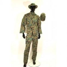 Costum camuflaj 4 piese Digital Woodland - L [Swiss Arms] - Uniforma militara