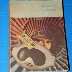 POVESTIRI CIBERROBOTICE. ANTOLOGIE SCIENCE FICTION. Asimov, clarke (05017 - Carte SF