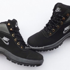BOCANCI NIKE MANDARA - Bocanci barbati Nike, Marime: 40, Culoare: Din imagine, Piele sintetica