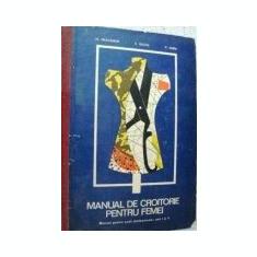 Carte design vestimentar - H. Waldner, E. Duliu si C. Dima - Manual de croitorie pentru femei Anul I si II