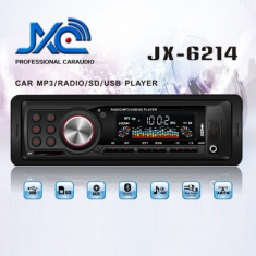 CD Player MP3 auto - Radio MP3 Player Auto cu USB si Card Reader JX-6214