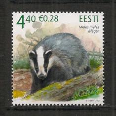 Estonia.2007 Animale salbatice HE.223 - Timbre straine, Nestampilat
