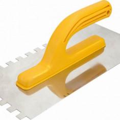 Gletiera inox 280 x 130 mm cu zimti