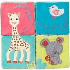 Cuburi educative din plus Vulli girafa Sophie - Jucarie interactiva