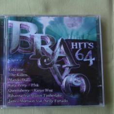 BRAVO HITS 64 (2009) - 2 C D Original - Muzica Dance sony music